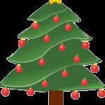 Weihnachtsbäume malen