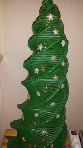 Papierrollen Basteln Weihnachtsdekobasteln