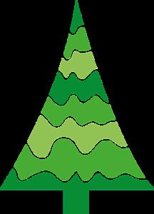 weihnachtsbaum aus lichterketten und brettern weihnachtsdekobasteln. Black Bedroom Furniture Sets. Home Design Ideas