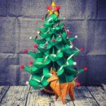 Weihnachtsbaum aus Papier falten