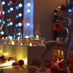 Weihnachtliche Tischdeko basteln