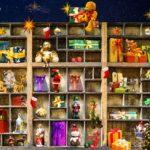 Bootsregal weihnachtlich dekorieren